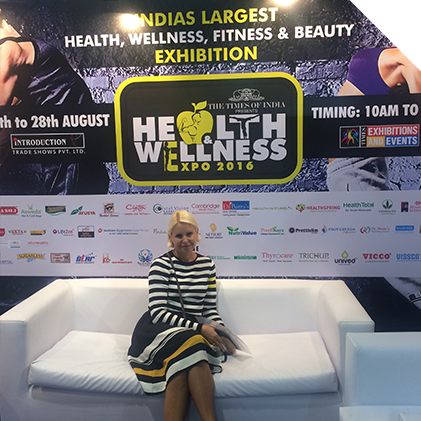 About Sasa the Inspirer -health and wellness expo 2016 India